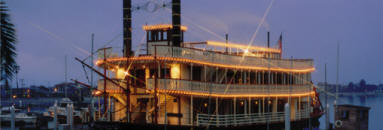 Sternwheelers serve as unique banquet facilities for special events
